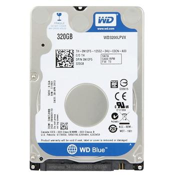 Western Digital 2.5 320GB 5400Rpm 8Mb Sata3