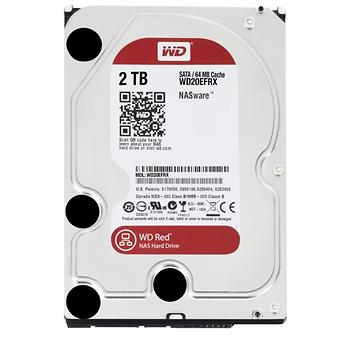 Western Digital 2TB Red Intellipower 64Mb Sata 3