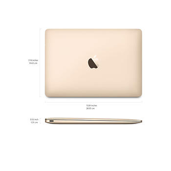 Apple MacBook 12 MK4M2TU/A