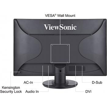 Viewsonic 23.6 inc VA2445M Full HD VGA 5ms Led Monitör