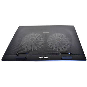 Flaxes FN-3255 Mavi Led Iþýklý Notebook Soðutucu